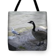 On The Lakefront Tote Bag