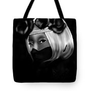 On The Lips Of Poise Tote Bag