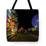 On The Midway Tote Bag