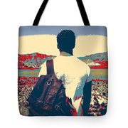 On The Move In The Wilderness Tote Bag