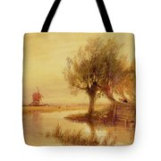 On The Norfolk Broads Tote Bag