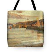On The North Devon Coast Tote Bag