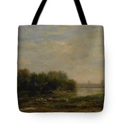 On The Oise Tote Bag