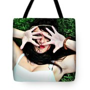 On The Other Hand Tote Bag
