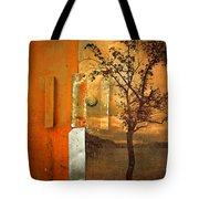 On The Other Side Of The Door Tote Bag
