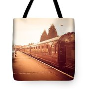 On The Platform Tote Bag