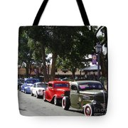 On The Plaza Tote Bag
