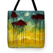 On The Pond By Madart Tote Bag