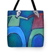 On The Precipice Tote Bag