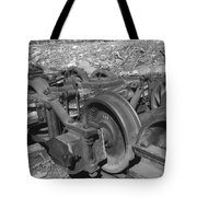 On The Quincey Rails  Tote Bag