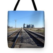 On The Right Tracks Tote Bag