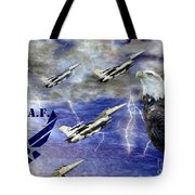 On The Rise Two Tote Bag