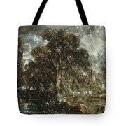 On The River Stour Tote Bag