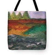 On The River's Edge Tote Bag