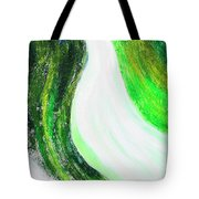 On The Road In Green Tote Bag