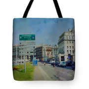 On The Road To Aix Tote Bag