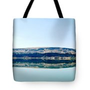 On The Road To Electric City Tote Bag