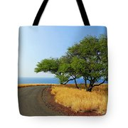 On The Road To Lapakahi Tote Bag