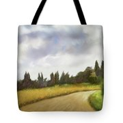 On The Road To Siena Tote Bag