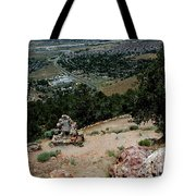 On The Road To Virginia City Nevada 15 Tote Bag