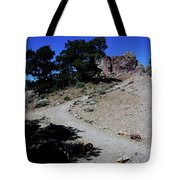 On The Road To Virginia City Nevada 16 Tote Bag
