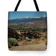On The Road To Virginia City Nevada 20 Tote Bag