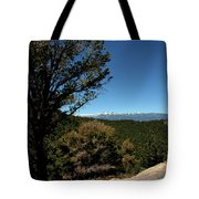 On The Road To Virginia City Nevada 4 Tote Bag