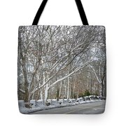 On The Road To Woods Hole Tote Bag