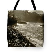 On The Rocks Bw Tote Bag