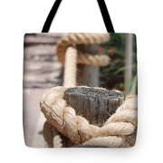 On The Ropes Tote Bag