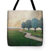 On The Rural Road Tote Bag