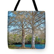 On The San Marcos River Texas Tote Bag