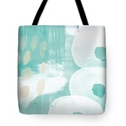 On The Shore- Abstract Painting Tote Bag