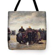 On The Shore Tote Bag by Jacques Eugene Feyen