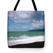 On The Shore Of Lake Ferry Tote Bag