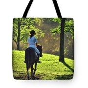 On The Showgrounds Tote Bag