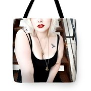On The Steps Tote Bag
