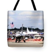 On The Taxiway Tote Bag