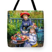 On The Terrace Tote Bag