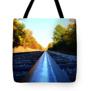 On The Track Tote Bag