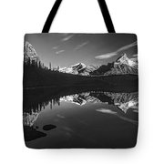 On The Trail Bw Tote Bag