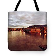 On The Vltava River Tote Bag