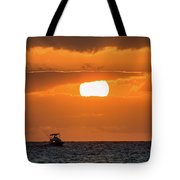 On The Water Tote Bag by David Buhler