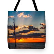 On The Water Front Tote Bag