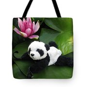 On The Waterlily Tote Bag