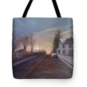 On The Way Home Tote Bag