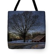 On The Way Home Hdr  Tote Bag
