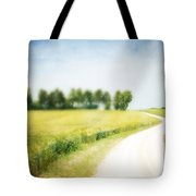 On The Way Through The Summer Tote Bag