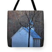 On The Way To Church Tote Bag
