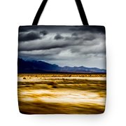 On The Way To Death Valley Tote Bag